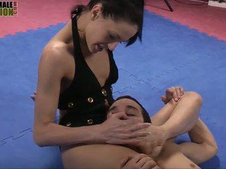 Aliz Foot Domination Video