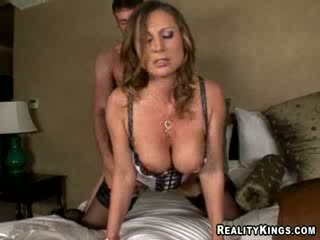 Devon Lee - Devon makes Jordan pay for stumbling into her room on accident by making him fuck her cunt to her liking.