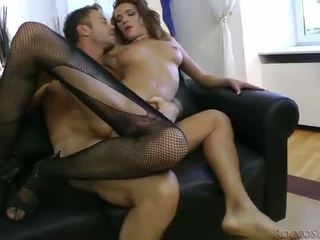 Sexy hot tramp Milla Yul anal devastated