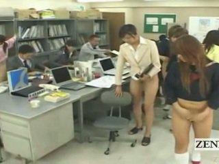 schüler, japanisch, gruppen-sex