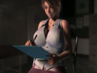 tits, fucking, hentai