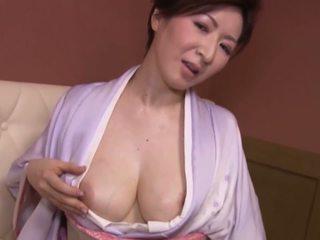 일본의, 큰 가슴, 성숙