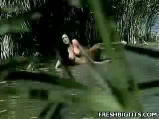 Large Tit Ursula Outdoor Fuck