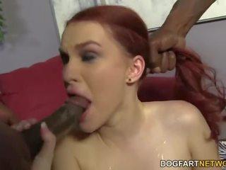 Andrea sky double penetrated által nagy fekete cocks