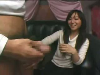 Desperate Asian Teen Gets A Cumshot