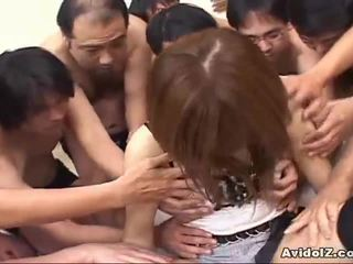 Japoniškas mažutė touched iki daug men uncensored