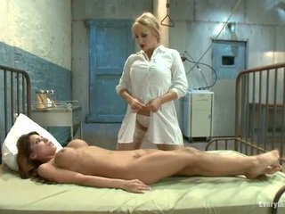 Aleska Nicole Gets Her Perfect Ass Used By Nurse Lea Lexis