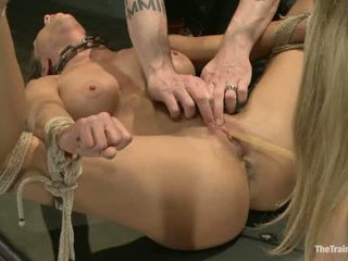 Lesbo orja koulutus ariel x br featured trainer aiden starr