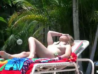 Teenie blonde horny sex under the sun
