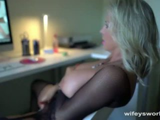Wifey Gets Off Fantasizing About Big Black Cocks <span class=duration>- 5 min</span>