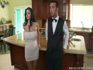 Domineering milf kas orders jos butler