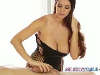 Alison tyler kuk milking en stor pikk til en sædsprut