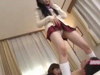Bela seductive coreana gaja a foder