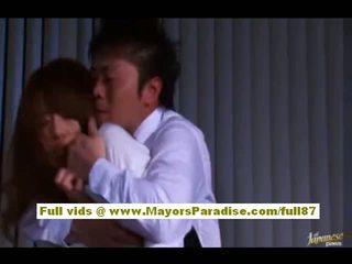 Akiho yoshizawa kiinalainen tyttö gets hyväksikäytettyjen at työ