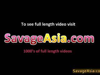 Merginos azijiečių lesbo porno