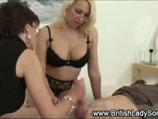 fin brittiskt, hetaste cumshot, femdom