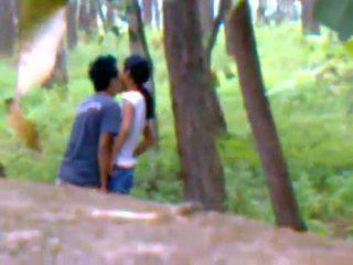amature, compañera, al aire libre