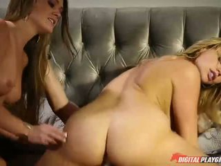 Abby menyeberang dan mia malkova seksi seks tiga orang