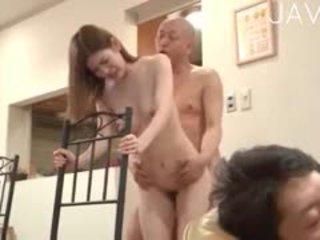 日本の, 集団セックス, ザーメン