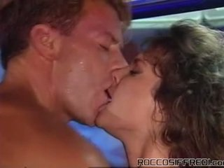 Rocco Taking Having Fucking Sleaze Girl Onto A Pool Tabke And Gives Cumload