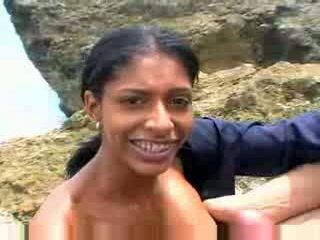 Mexicana avsugning med henne stor klantskallar video-