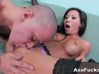Asa akira gets لها كس pounded شاق