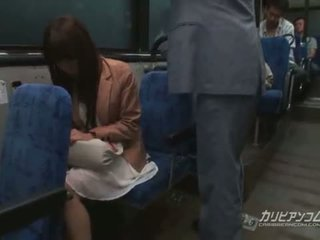Chikan fodido em autocarro