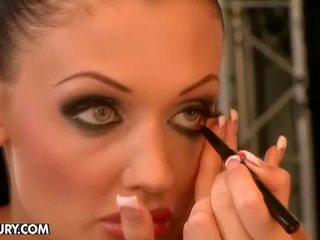 Aletta fingering herself before the shooting