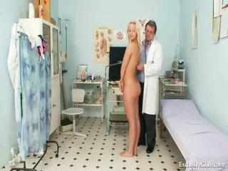 Cookie Exam Of An Impressive Hot Blonde