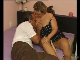A seksikäs pullea nainen loves seksi