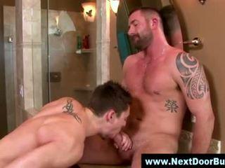 同性戀者 muscle 運動員們 口交 射精