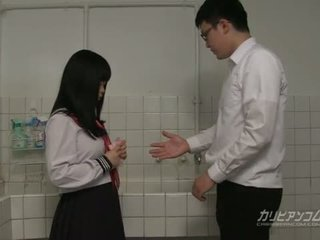 študent, japonec, výstrek