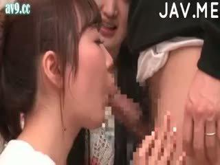 japonais, sexe de groupe, éjaculation