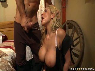 Alanah rae appreciates the cowgirl par the rod