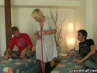 régi, 3some, nagymama