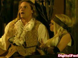 Các diễn viên abbey brooks trong hậu môn trang phục truy hoan tập