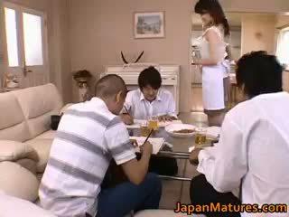 Miki sato echt aziatisch moeder part1