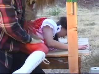 Little red riding hood with big tit ge...