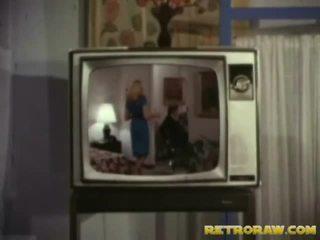 Retro tv espectáculo trio