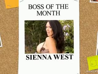 Naughty Milf Boss Sienna West