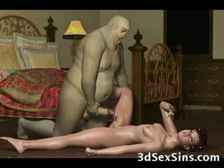 3d demons γαμώ Καυτά babes!
