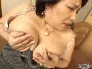 japanese, masturbating, mature, mommy