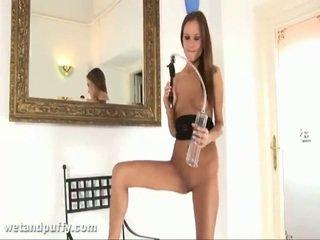 Abby using labia pam