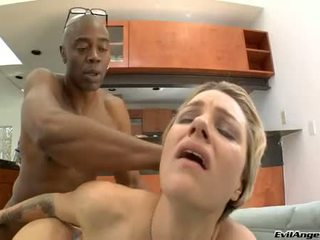 Rockin Hot Belladonna Widens Her Vaginas And Feels The Amazing Pole In Her