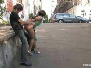 жорстке порно, важко ебать, секс на вулиці