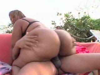 Besar pantat/ punggung warga brazil
