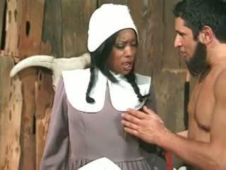 Farmer anal fucking a black maid Video