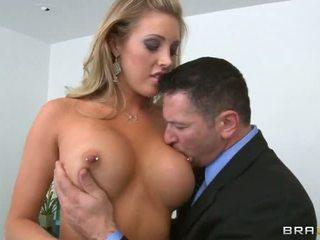 hq grote tieten plezier, nominale titty neuken, deep throat