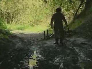 fată, pădure, rape
