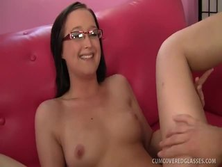 Nubile College Babe Blaire Face Creamed